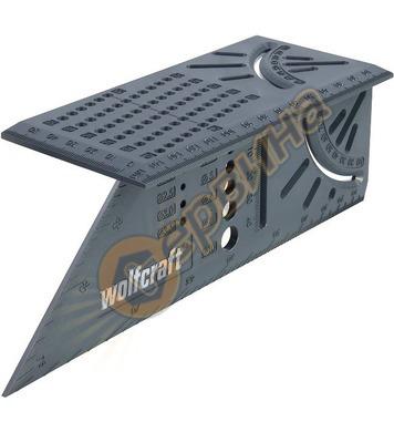 Шаблон за отвори под ъгъл Wolfcraft 5208000 - 0-90°