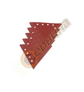 Триъгълна шкурка за шлайфане Scheppach Едрост 180 - 10 броя