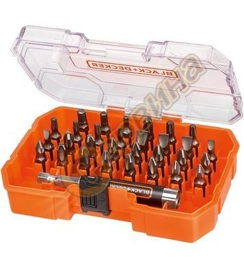 Kомплект магнитен адаптор и битове Black&Decker A7228 - 31бр