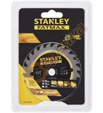 Циркулярен диск за дърво Stanley STA10410 - 89x10мм