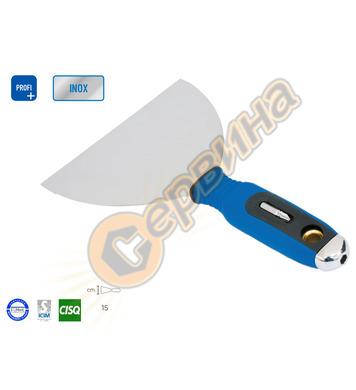 Шпакла за фуги заоблена Inox Ausonia AU54137 - 150 мм