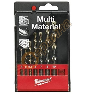 Комплект свредла за метал/дърво/бетон Milwaukee MIWK-4398 49