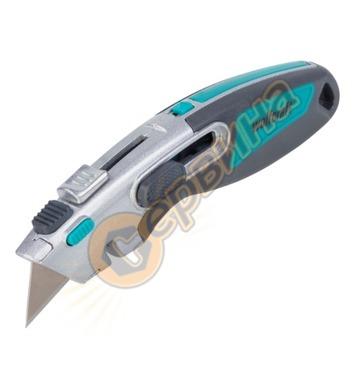 Макетен нож с трапецовидно острие Wolfcraft 4106000 - 9мм