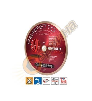 Диамантен диск Montolit CPF200 200х2.0х10х30/25.4мм - порцел