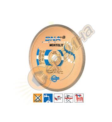 Диамантен диск Montolit CX250 250х2.0х10х30/25.4мм - порцела