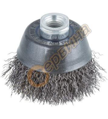 Метална четка тип камбана Wolfcraft 2107000 - Ø70 мм