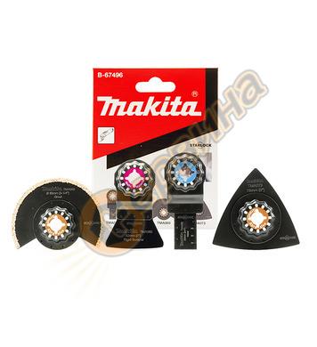 Комплект ножове за мултифункционален инструмент Makita TM ST