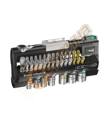 Комплект накрайници и тресчотка Wera Tool-Check 1 SB 0507322
