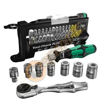 Комплект накрайници и тресчотка Wera Tool-Check Plus 0522770