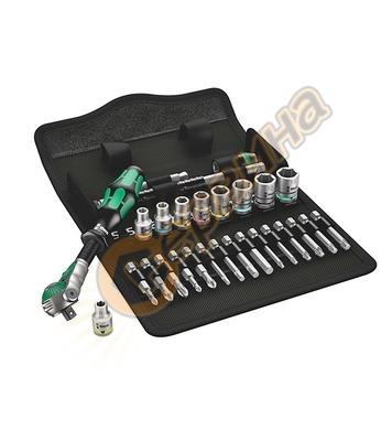 Комплект накрайници и тресчотка Wera 8100 SA 6 05004016001 -