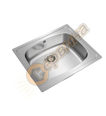 Иноксова мивка за вграждане Teka UNIVERSE 60 T-XP 1B 1150100