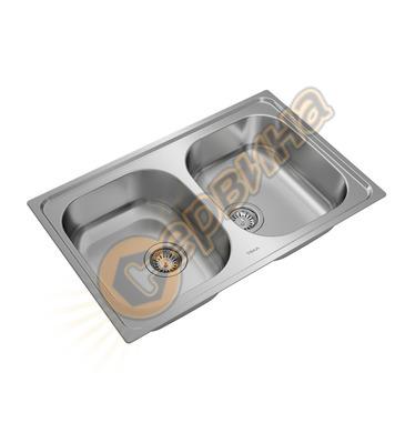Иноксова мивка за вграждане Teka UNIVERSE 80 T-XP 2B 1150400