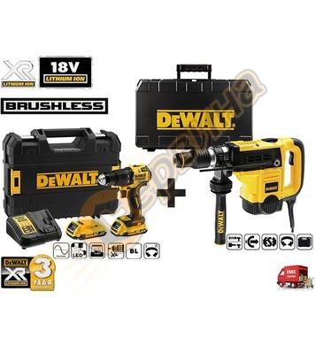 Комбиниран перфоратор DeWalt D25501K - 1100W + акумулаторен