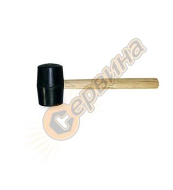 Гумен чук с дървена дръжка Battipav 153/1 - 0.500 кг