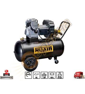 Маслен компресор Fini Nuair GVM/100 PCM 3BFA504NUA - 100л/10