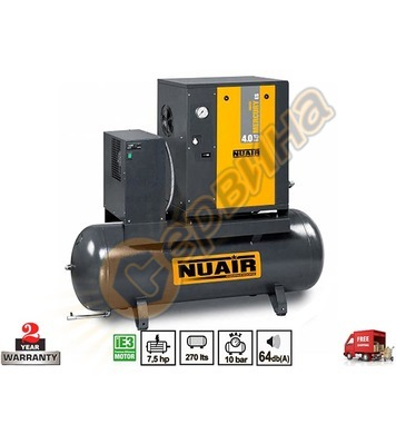Винтов трифазен компресор Fini Nuair Mercury Tronic 5.5/10/2
