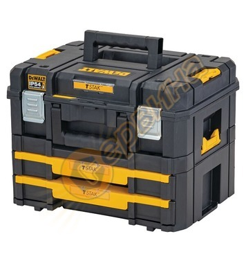 Куфар за инструменти DeWalt Combo Tstak II + IV DWST83395-1