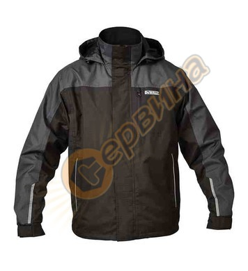 Работно водоустойчиво яке DeWalt Storm Waterproof Black/Grey