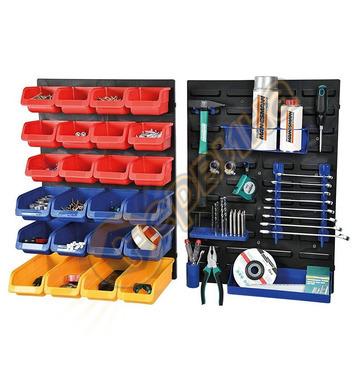 Стелаж с кутии за съхранение Mannesmann 43 части 41555