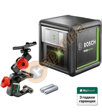 Лазарен нивелир с кръстосани линии Bosch Quigo Green 0603663