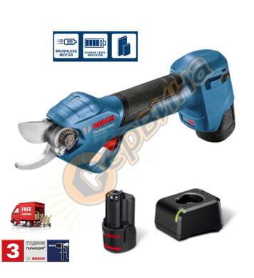 Акумулаторна градинска ножица Bosch ProPruner 06019K1020 - 1