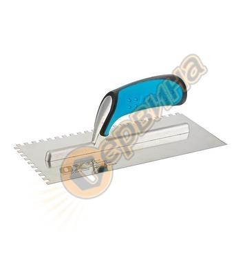 Маламашка назъбена 6мм OX Pro OX-P403206 - 280х115мм