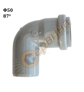 Полипропиленово коляно-дъга Pestan 10200802 - ф50-87°