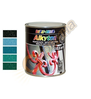 Боя за метал Dupli Color Alkyton хамър ефект 0.75л - 043190