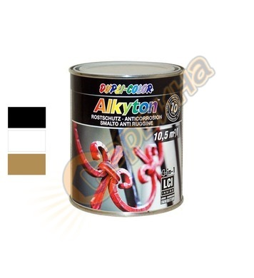 Боя за метал Dupli Color Alkyton матoва 0.75л - 043091