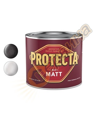 Боя за метал Protecta 3 in 1 Мат 0.5л - 13-101460