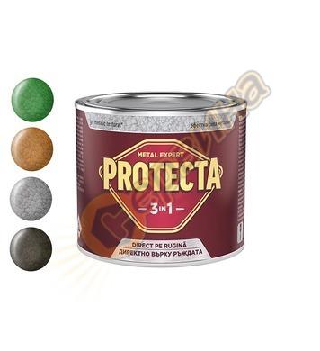 Боя за метал Protecta 3 in 1 ефект металик 0.5л - 13-100119