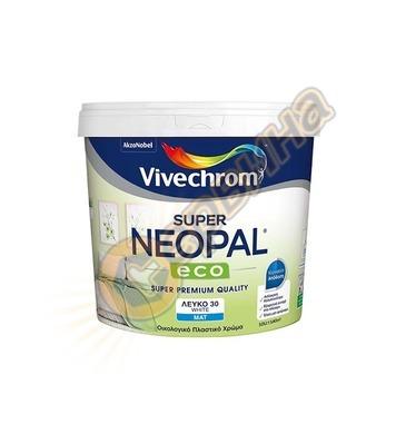 Латексова интериорна боя Vivechrom Neopal Бяла мат 3/10л - 5