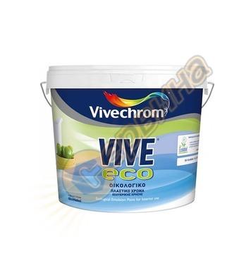 Латексова интериорна боя Vivechrom Vive Eco Бяла 3/9л - 5202