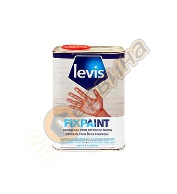 Грунд за стени и тавани Levis Fixpaint 1л/5л - 5412271147264