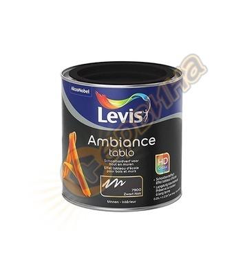 Акрилна боя за черни дъски Levis Ambiance Tablo мат Черна/Бя