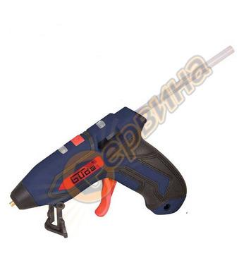 Пистолет за горещо слепване акумулаторен GUDE 58499 ф7мм 3.7