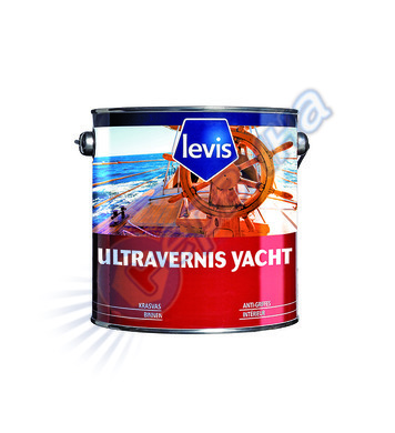 Яхтен лак Levis Ultravarnish Yacht Brillant Безцветен 0.75л/