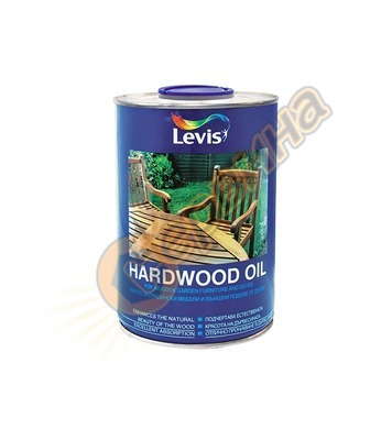Масло за дърво Levis Hardwood Oil Безцветен/Тик 1л/3л - 3800