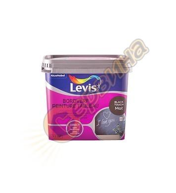 Боя за черни дъски и стени Levis Bordverf мат Черна 0.5л - 5