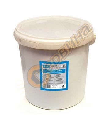 Кварцов пясък за пясъкоструене 0.2-1.4мм 15кг GUDE 40010