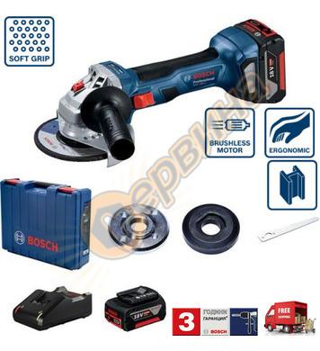 Акумулаторен ъглошлайф Bosch GWS 180-LI Blue force 06019H902