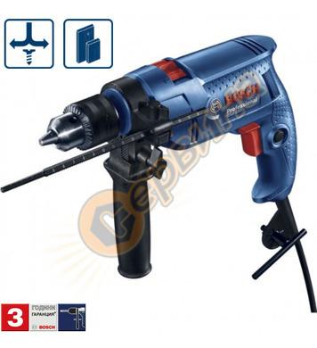Ударна бормашина Bosch GSB 500 Blue force 06011A1023 - 600 W