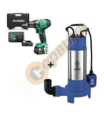 Потопяема-дренажна помпа Elektro Maschinen SPG 18502 CDR 350