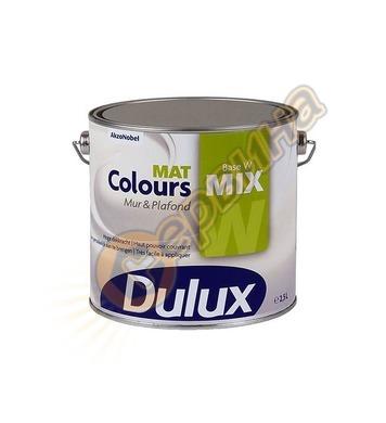 Латексова интериорна боя Dulux Colours Matt мат Бяла 2.5л/5л