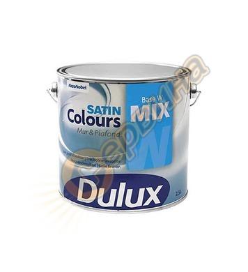 Латексова интериорна боя Dulux Colours Satin сатен Бяла 2.5л