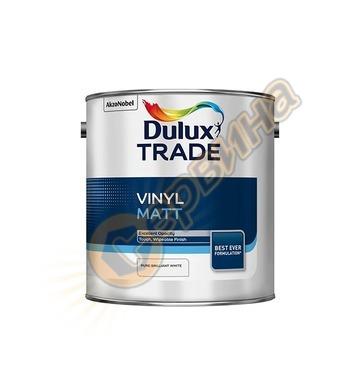 Латексова интериорна боя Dulux Vinyl Matt мат Бяла 2.5л/5л/1