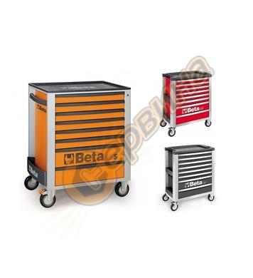 Сервизна количка за инструменти със 8 чекмеджета Beta C24S/8