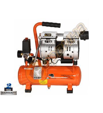 Безмаслен компресор Bisonte SC008-009 BT1008902 - 9л/8бара 9
