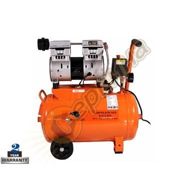 Безмаслен компресор Bisonte SC012-025 BT1008903 - 25л/8бара