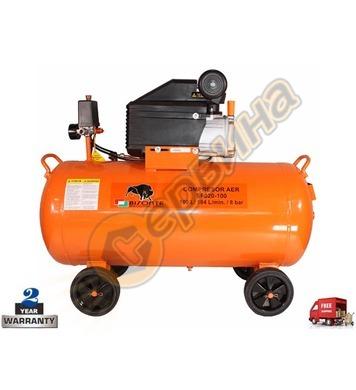 Маслен компресор Bisonte SF020-100 BT1008908 - 100л/8бара 18